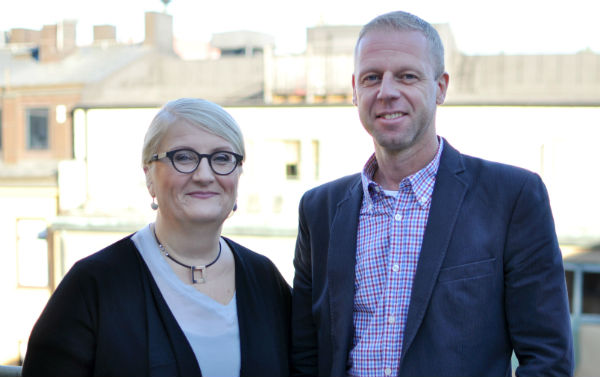 Brit Stakston och Claes Helge