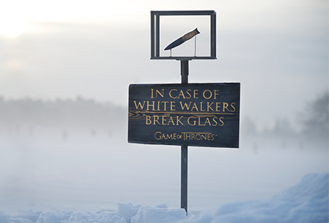 In Case of White Walkers JMW GoT S03