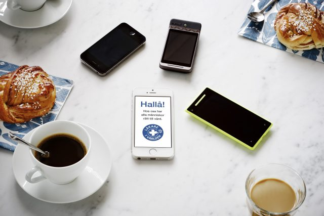 Donera mobilskärmen till Läkare i Världen