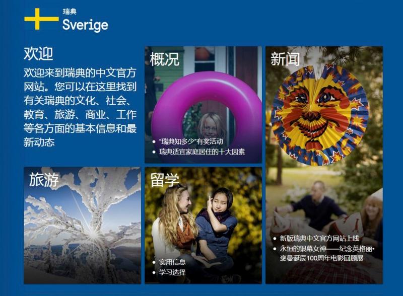 Sverige hemsida Kina
