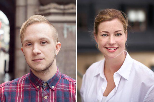 Sara Ullmark och Jonas Persson till JMW