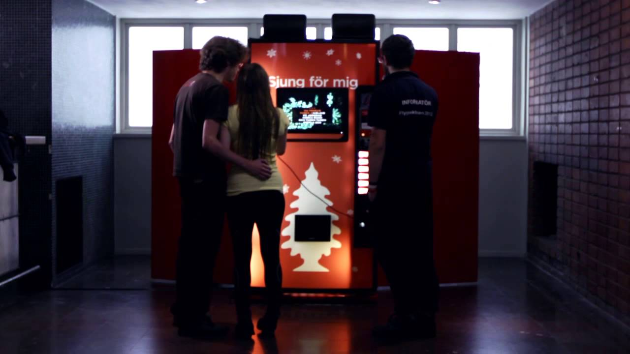 Coca-Cola: Sing for Me Vending Machine