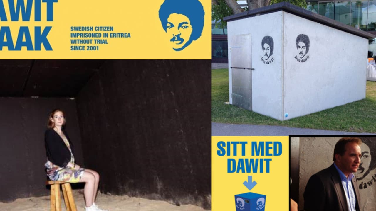 Free Dawit: Sitt med Dawit