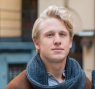 Jonathan Peterson PR-specialist på JMWGolin PR-byrå Stockholm
