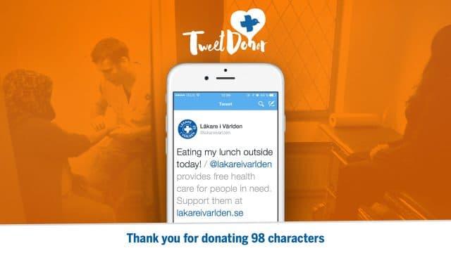 Läkare i Världen: Tweet Donor