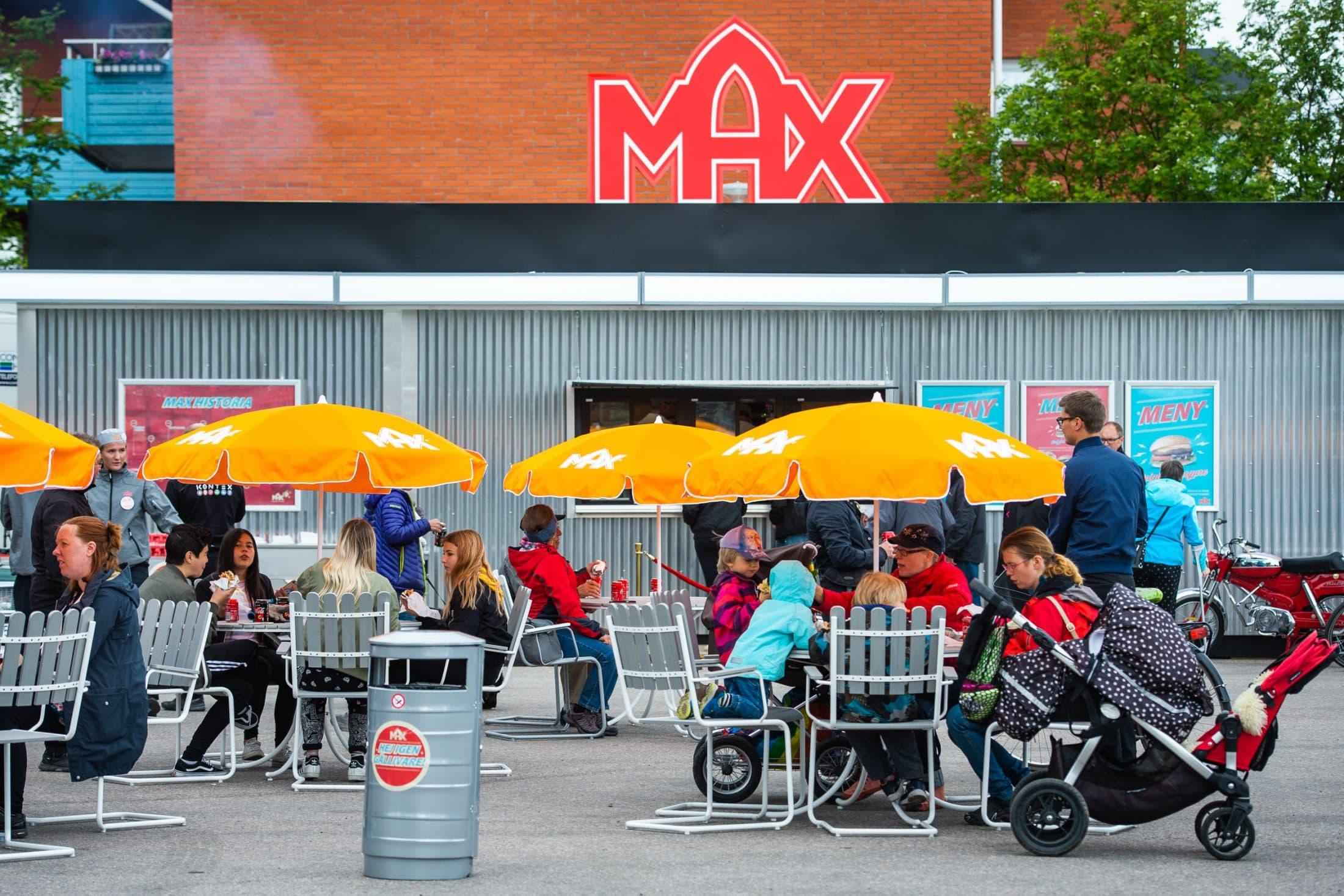 MAX Burgers: Första restaurangen