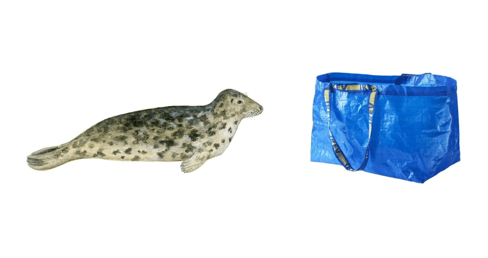 Skansen: Säl vs Ikeapåse