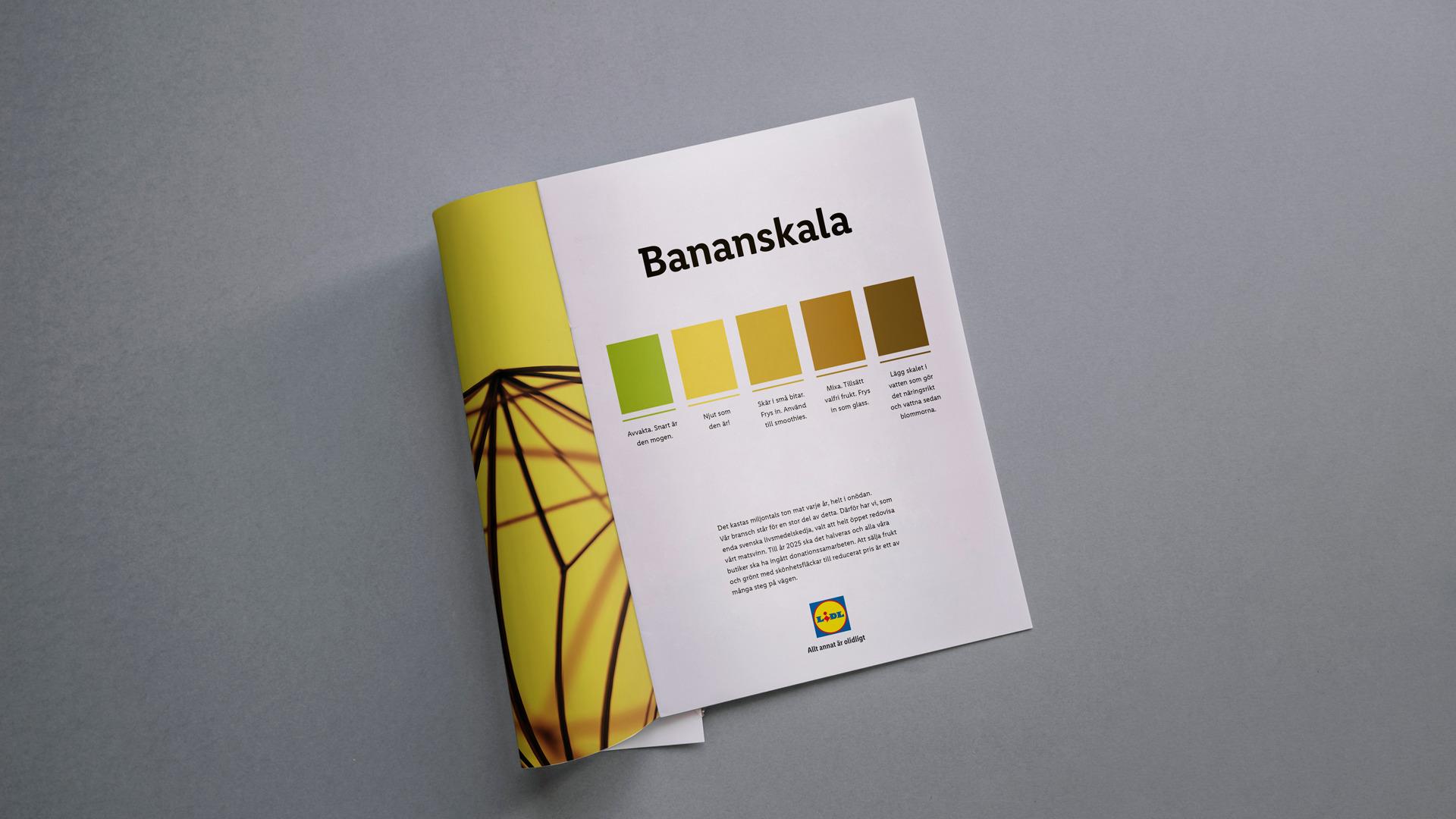 LIDL: Bananskala