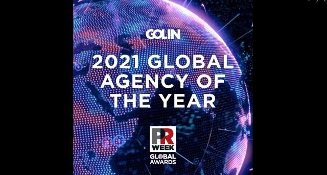 Golin vinner PRWeek Global Agency of the Year