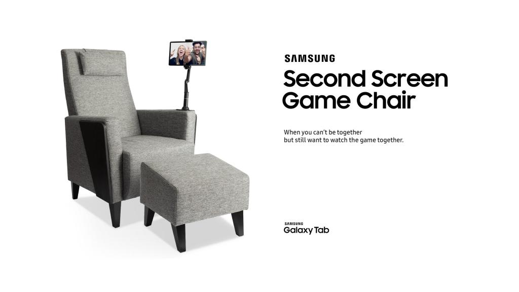 Samsung Second Screen Game Chair
